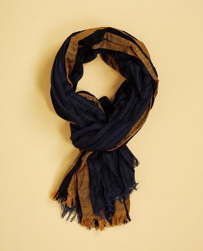 Gestreepte viscose sjaal